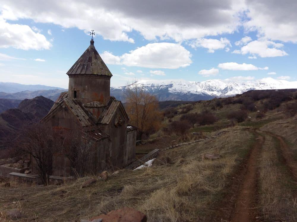 На вершине горы    Bustourma